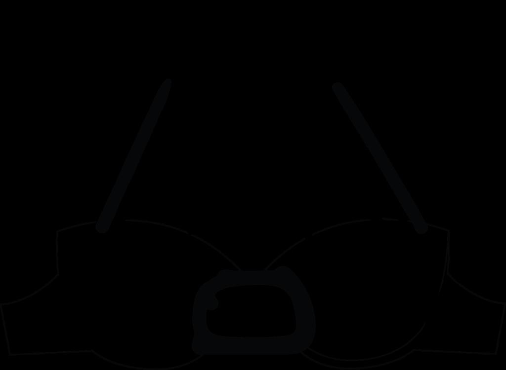 Illustration of a cage bra