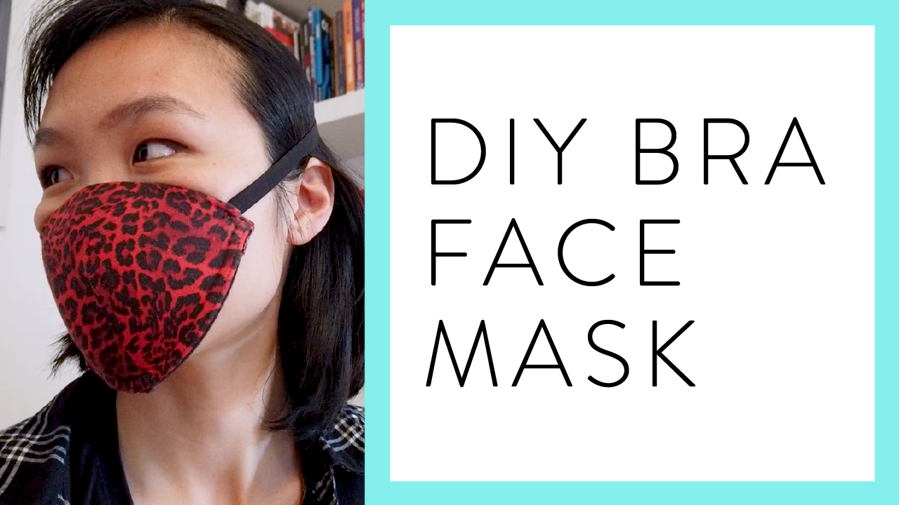 DIY Bra Face Mask